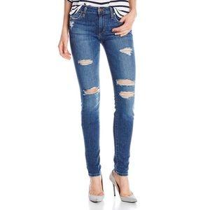 Joe's Jeans Icon Mid Rise Skinny Distressed 32 14